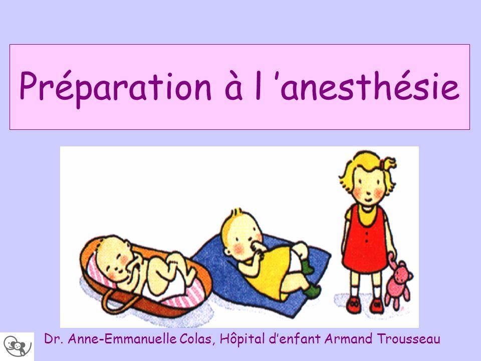 Préparation à l 'anesthésie