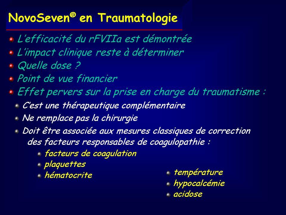 NovoSeven® en Traumatologie