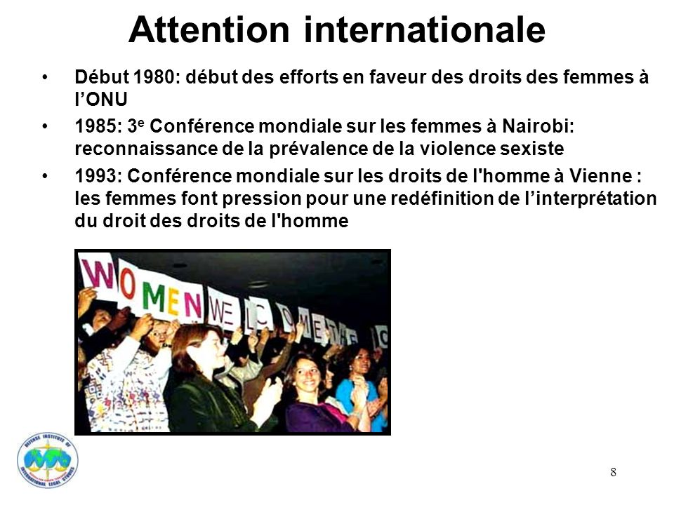 Attention internationale