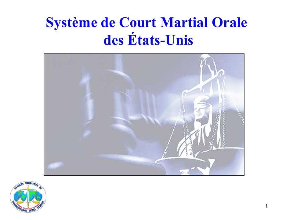 Système de Court Martial Orale des États-Unis