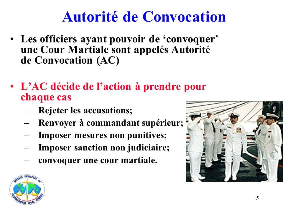 Autorité de Convocation