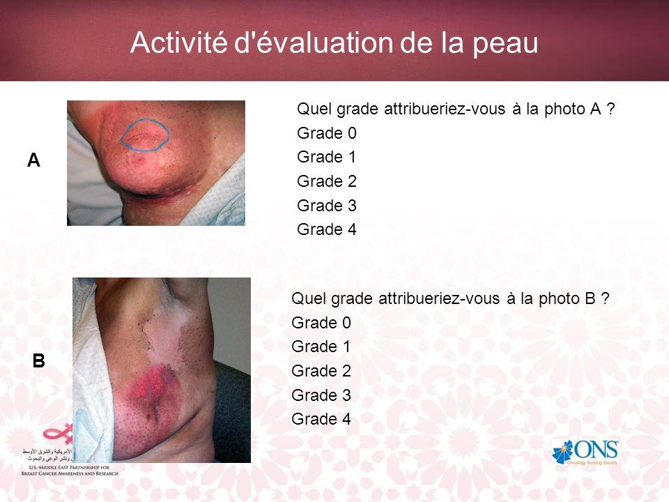 Activité d évaluation de la peau