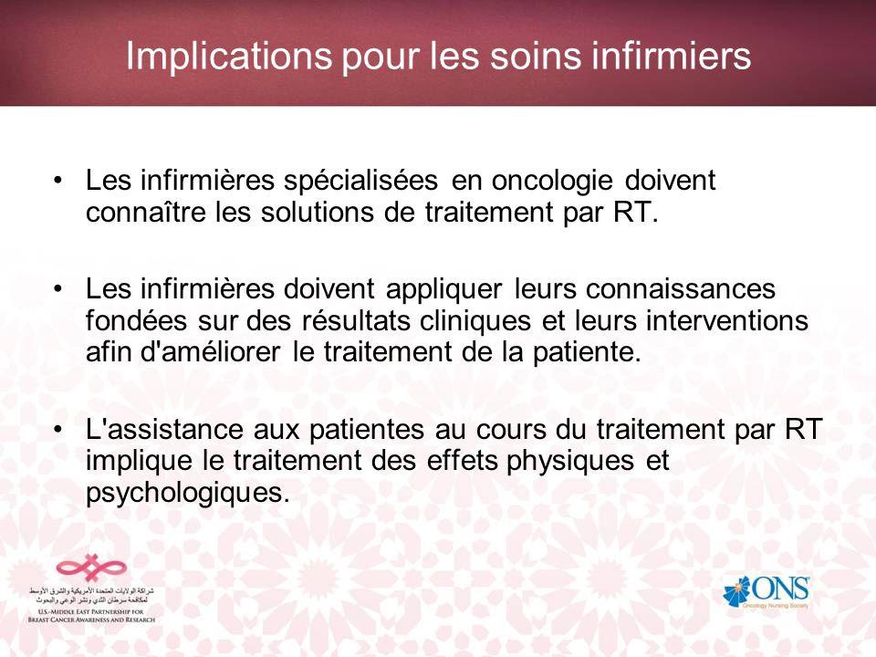 Implications pour les soins infirmiers