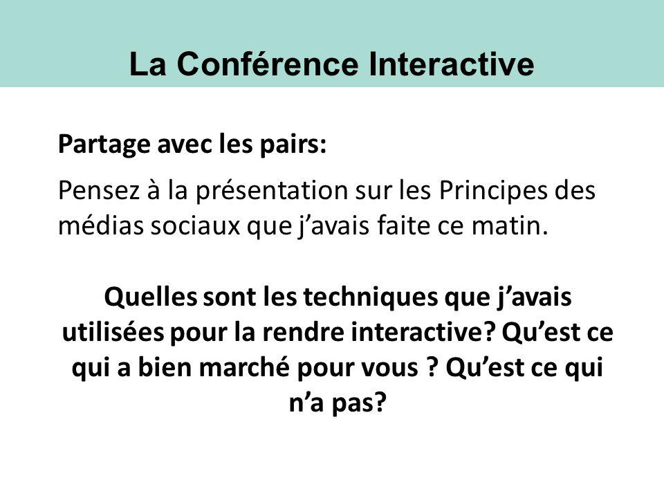 La Conférence Interactive