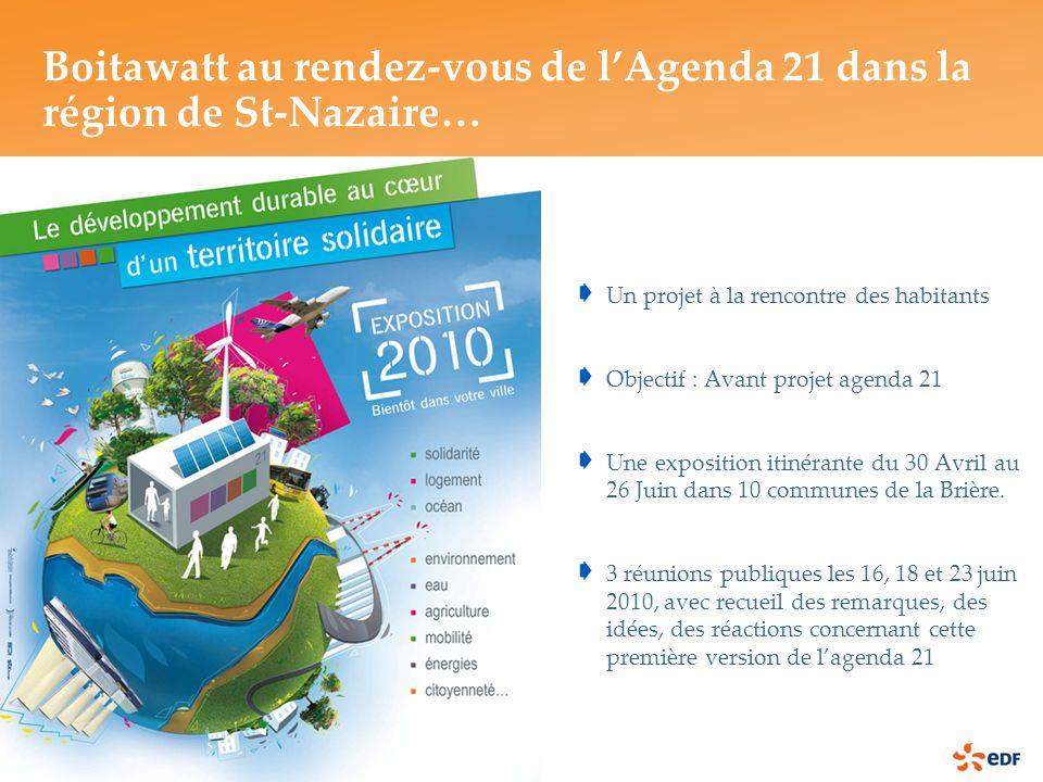 Boitawatt au rendez-vous de l'Agenda 21 dans la région de St-Nazaire…