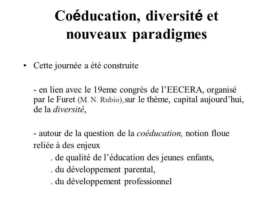 Coéducation, diversité et nouveaux paradigmes