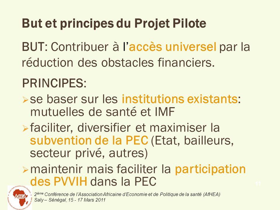 But et principes du Projet Pilote