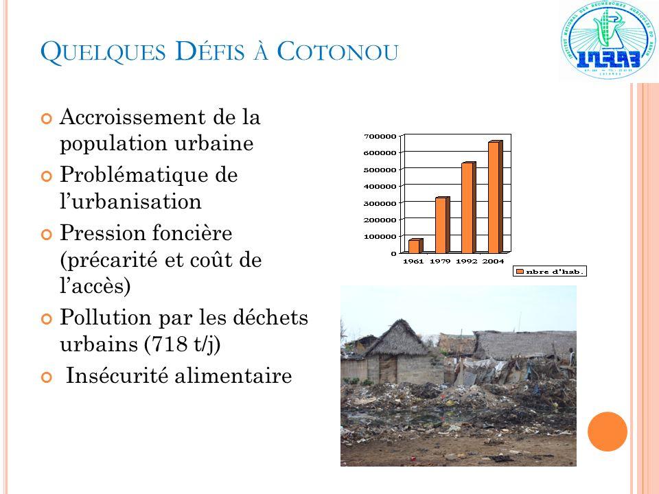 Quelques Défis à Cotonou