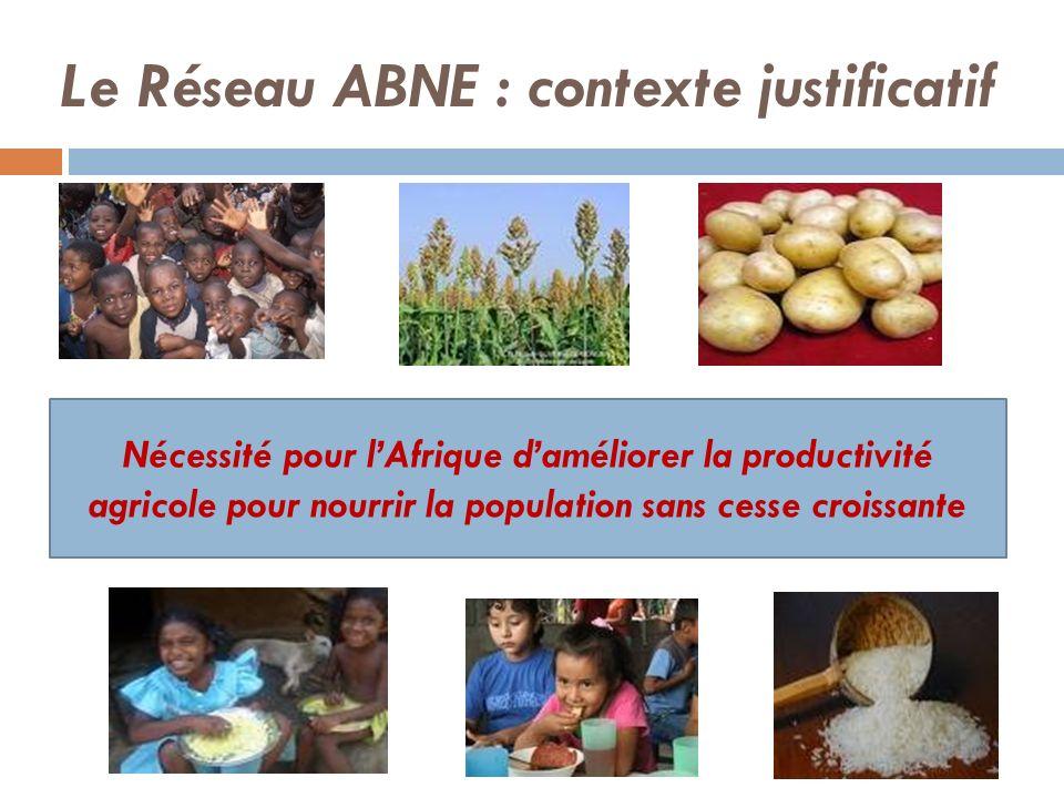Le Réseau ABNE : contexte justificatif