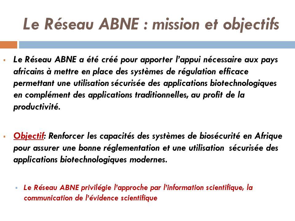 Le Réseau ABNE : mission et objectifs