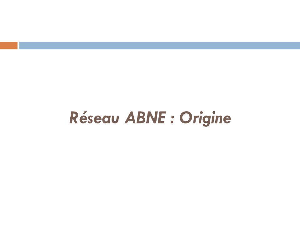 Réseau ABNE : Origine