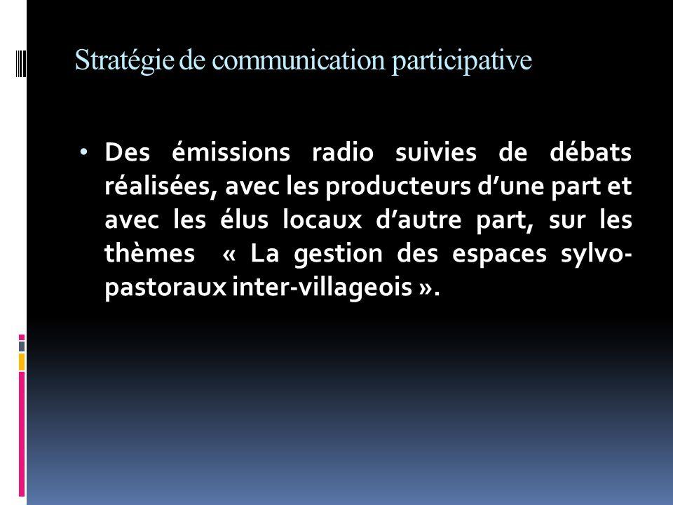 Stratégie de communication participative