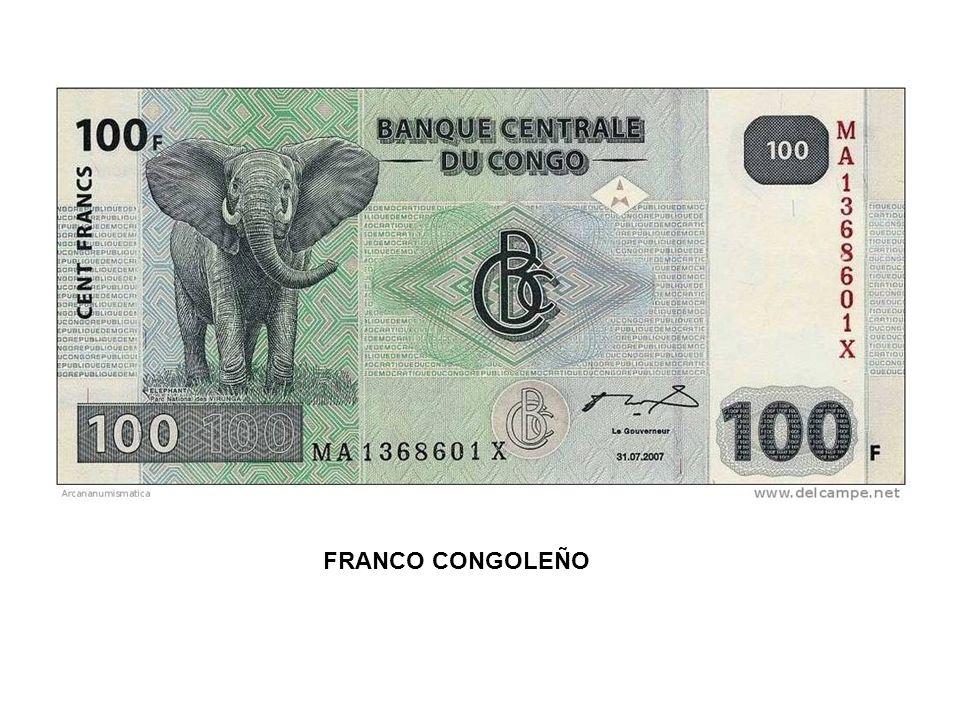 FRANCO CONGOLEÑO