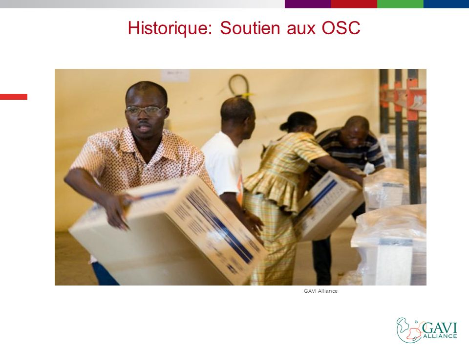 Historique: Soutien aux OSC