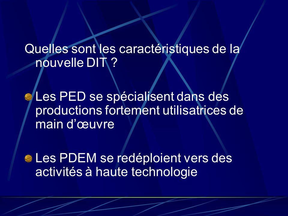 Quelles sont les caractéristiques de la nouvelle DIT
