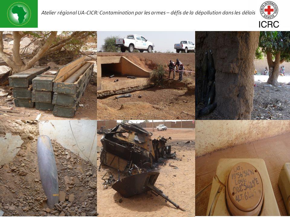 Atelier régional UA-CICR: Contamination par les armes – défis de la dépollution dans les délais