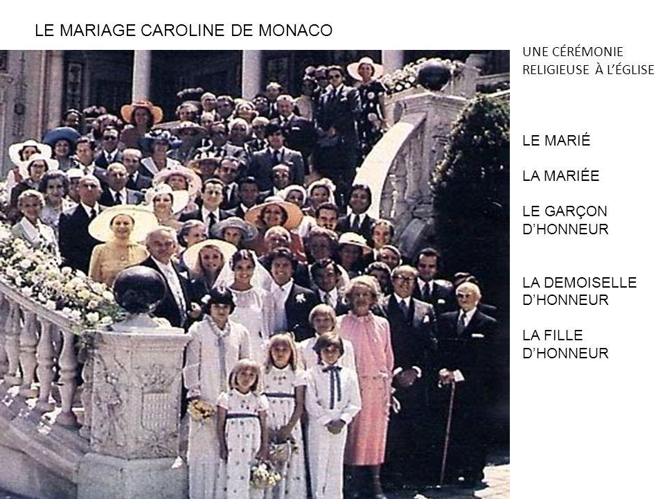 LE MARIAGE CAROLINE DE MONACO