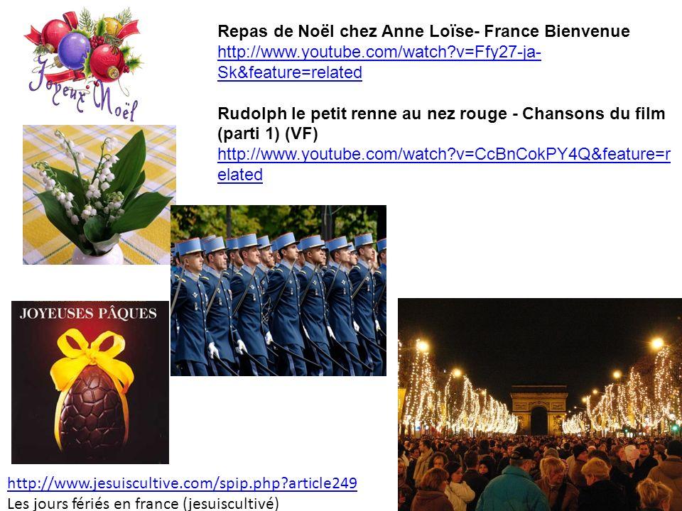 Repas de Noël chez Anne Loïse- France Bienvenue