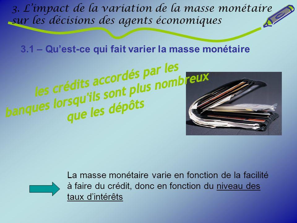 les crédits accordés par les banques lorsqu ils sont plus nombreux