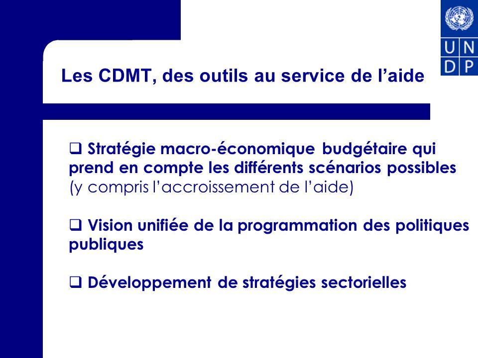 Les CDMT, des outils au service de l'aide