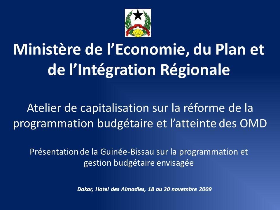Ministère de l'Economie, du Plan et de l'Intégration Régionale