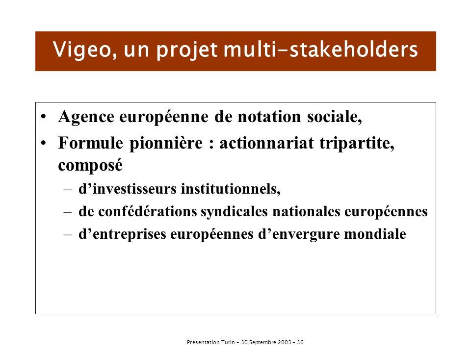 Vigeo, un projet multi-stakeholders