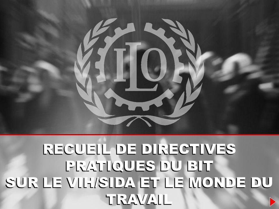 RECUEIL DE DIRECTIVES PRATIQUES DU BIT
