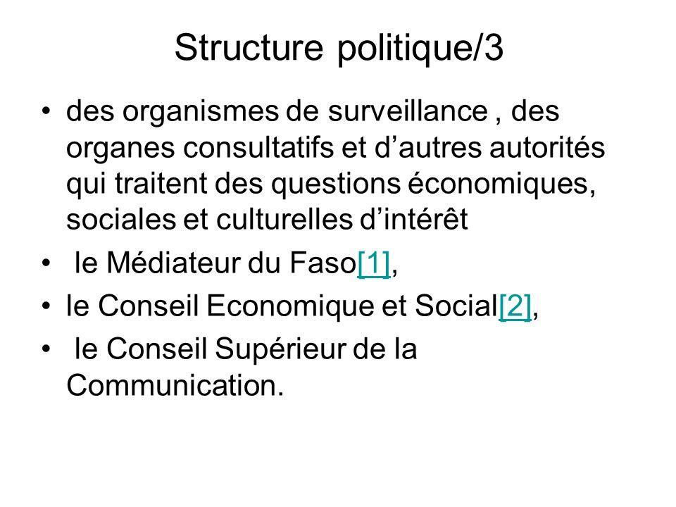 Structure politique/3