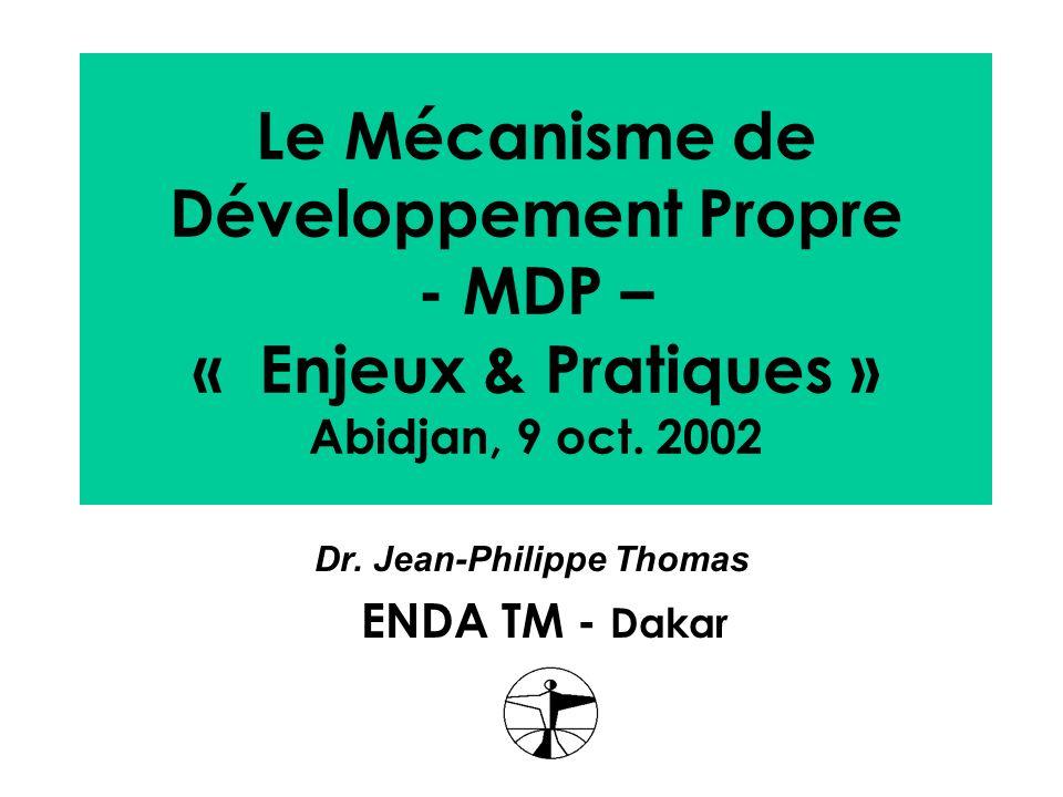 Dr. Jean-Philippe Thomas ENDA TM - Dakar