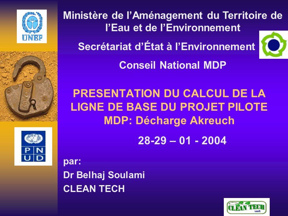 par: Dr Belhaj Soulami CLEAN TECH