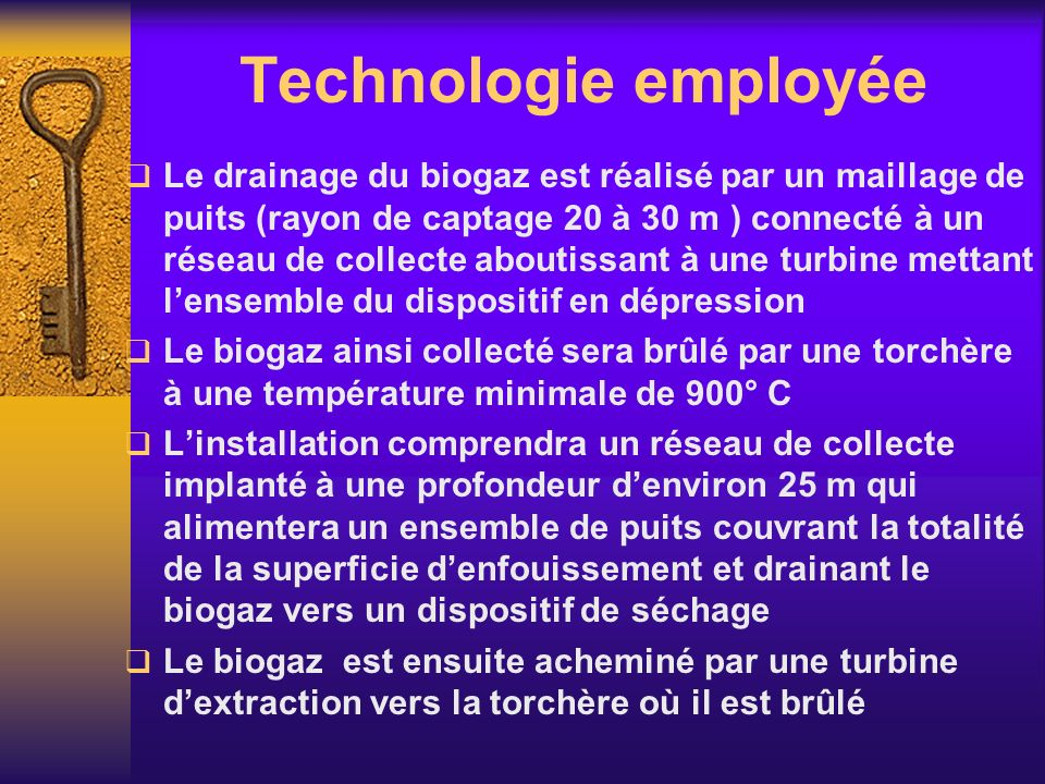 Technologie employée
