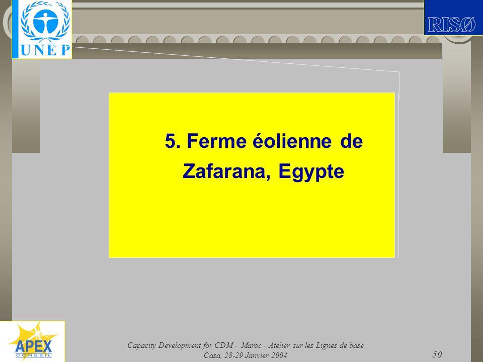 5. Ferme éolienne de Zafarana, Egypte