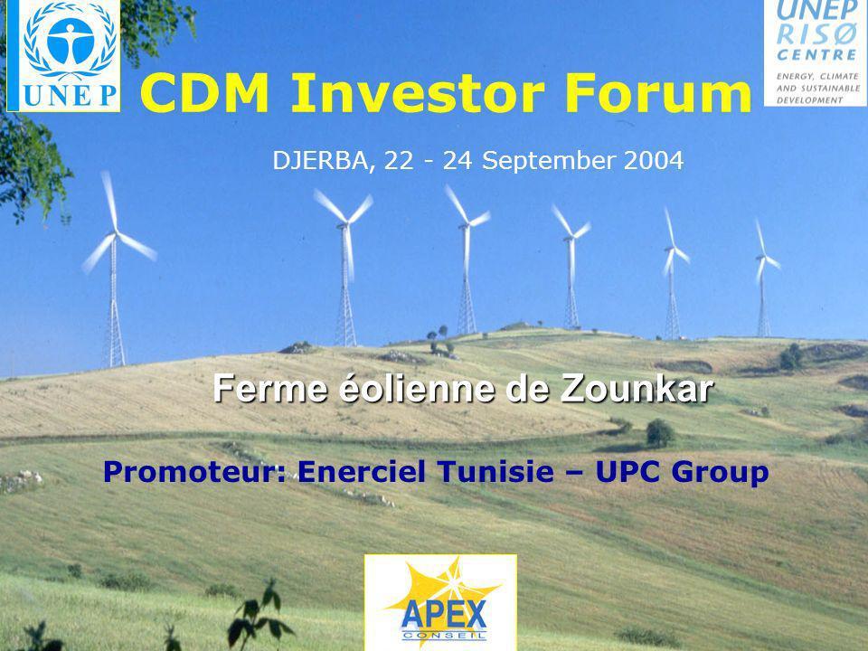 Promoteur: Enerciel Tunisie – UPC Group