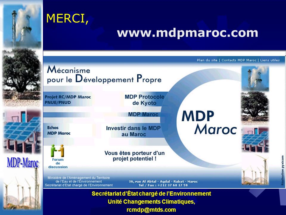 MDP-Maroc MERCI, www.mdpmaroc.com