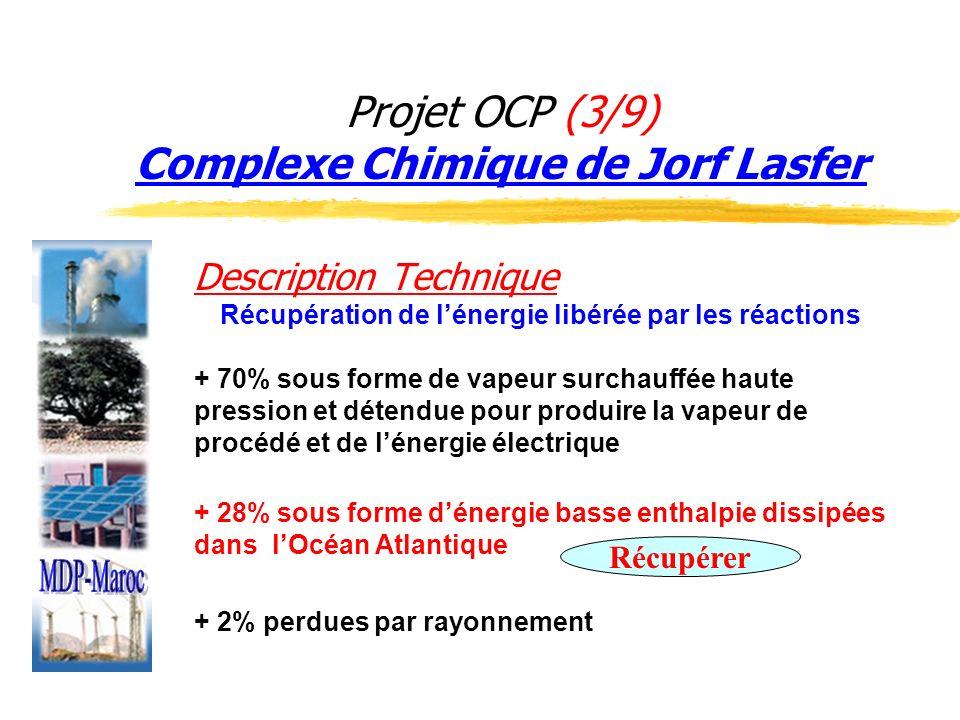 Projet OCP (3/9) Complexe Chimique de Jorf Lasfer