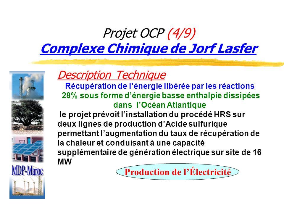 Projet OCP (4/9) Complexe Chimique de Jorf Lasfer