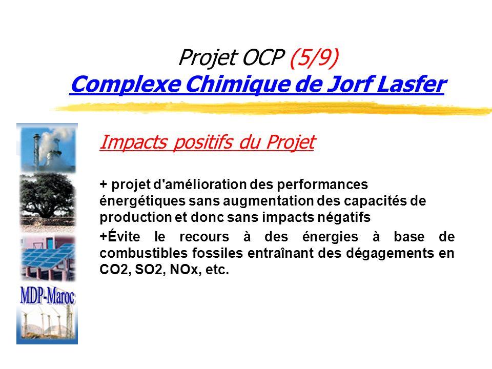 Projet OCP (5/9) Complexe Chimique de Jorf Lasfer