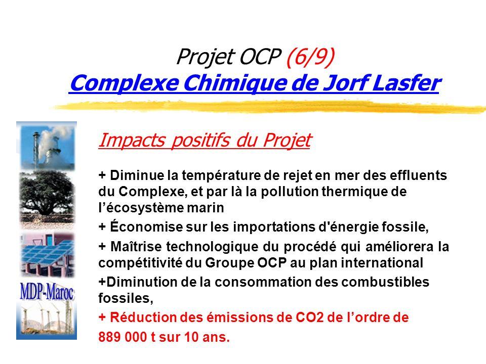Projet OCP (6/9) Complexe Chimique de Jorf Lasfer