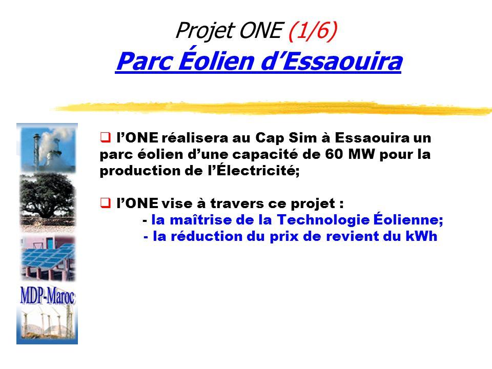 Projet ONE (1/6) Parc Éolien d'Essaouira