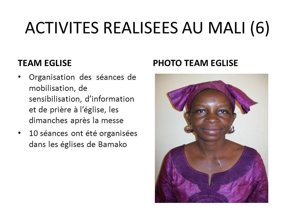 ACTIVITES REALISEES AU MALI (6)