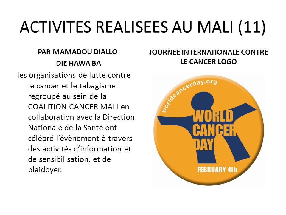 ACTIVITES REALISEES AU MALI (11)