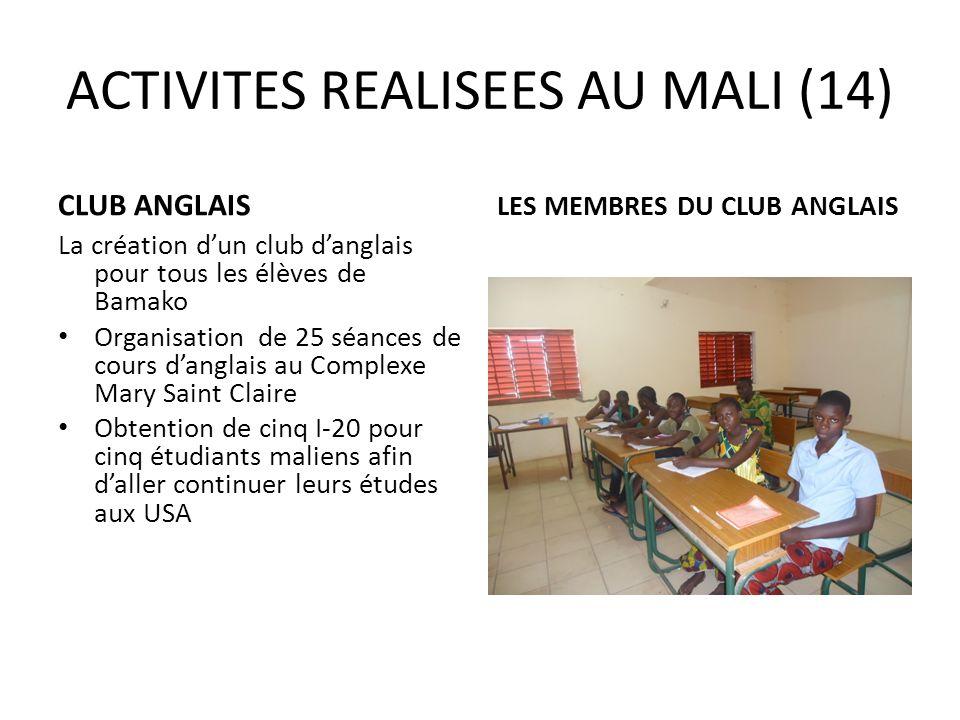 ACTIVITES REALISEES AU MALI (14)