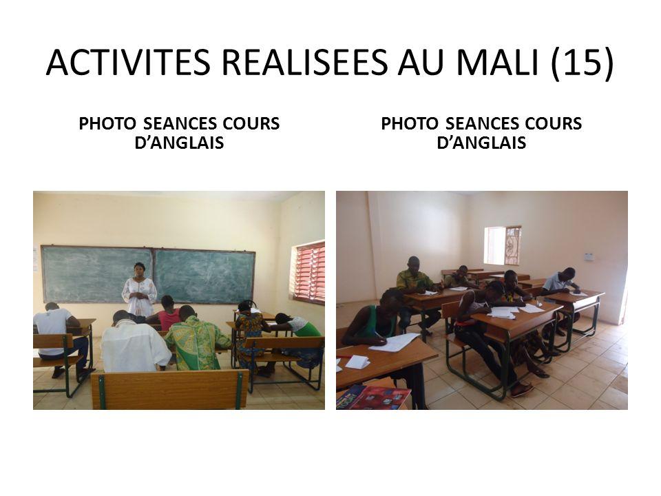 ACTIVITES REALISEES AU MALI (15)
