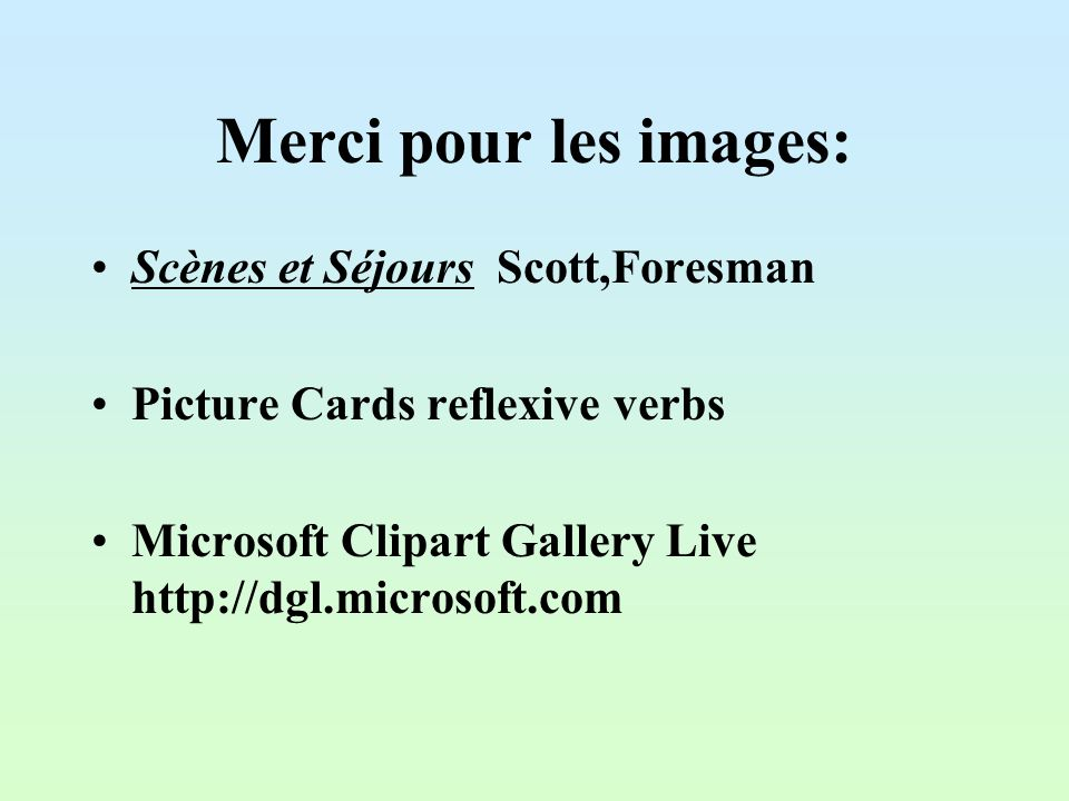 Merci pour les images: Scènes et Séjours Scott,Foresman