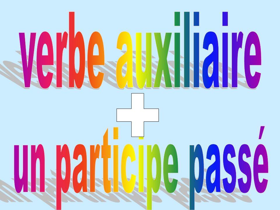 verbe auxiliaire + un participe passé