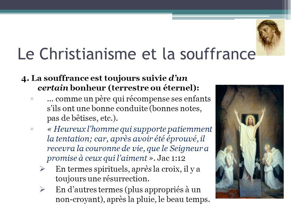 Le Christianisme et la souffrance