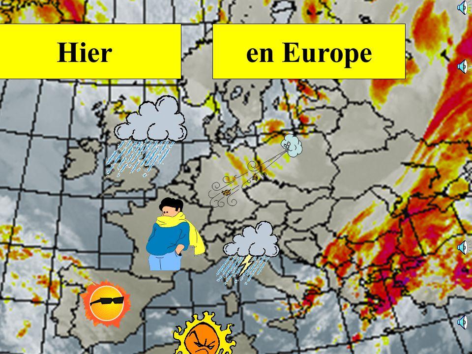 Hier en Europe