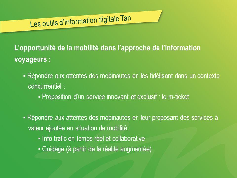 Les outils d'information digitale Tan