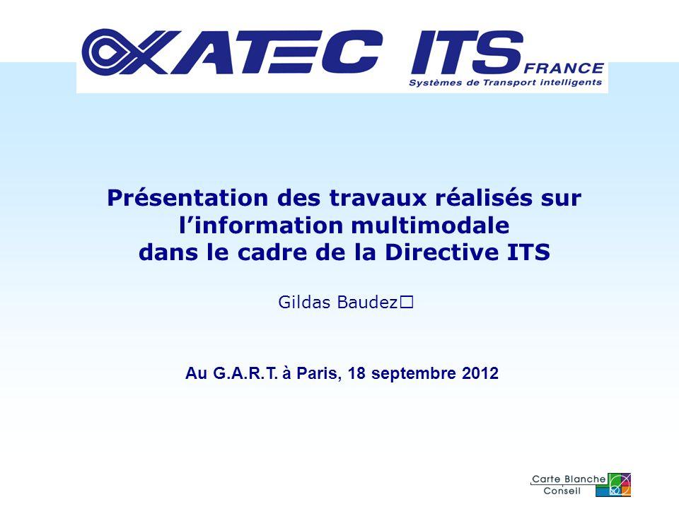 Au G.A.R.T. à Paris, 18 septembre 2012