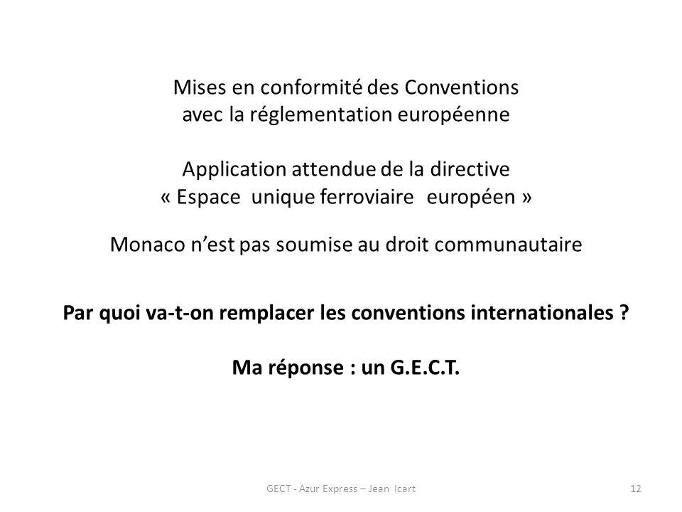 Par quoi va-t-on remplacer les conventions internationales